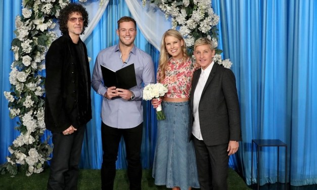 Former NFL Player Colton Underwood Helps Howard Stern Remarry