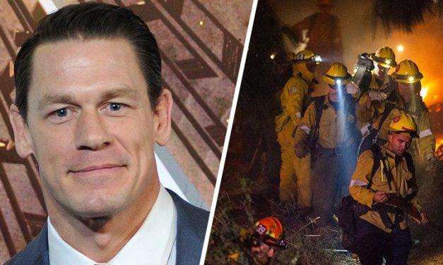 John Cena Donates $500K To California Firefighters Battling Wildfires