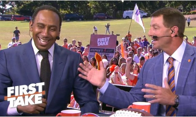 Dabo Swinney Mocks Stephen A. Smith With Impersonation After He Asks About Clemson's Soft Schedule