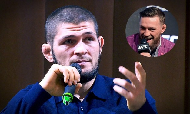 Khabib Savagely Responds to Question From Kid If He Wants a Rematch With McGregor in Moscow