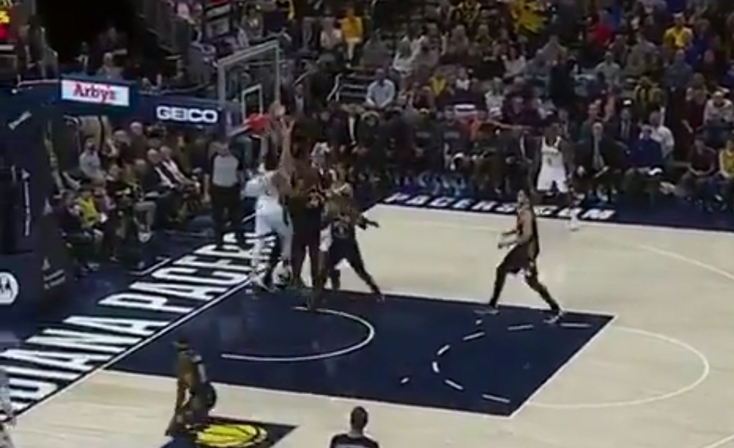 Giannis Antetokounmpo Put Two Defenders on a Poster