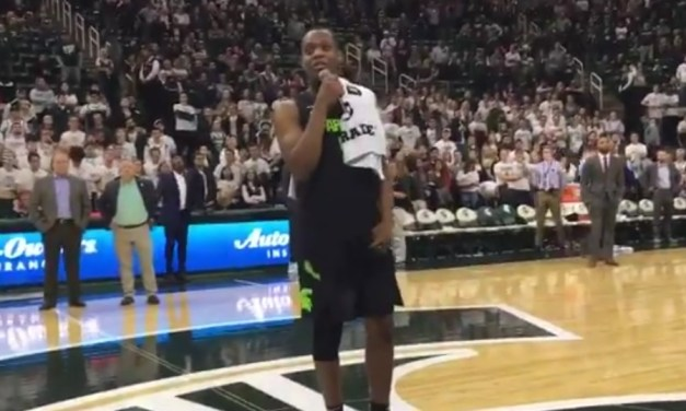 Cassius Winston Addressed the Michigan State Fans for the First Time Since His Brother's Death