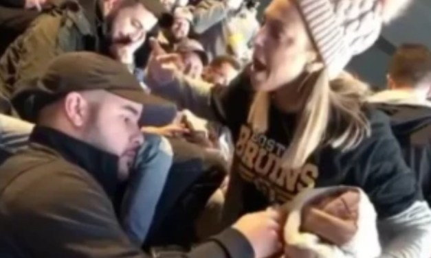Female Bruins Fan Who Screamed at a Man for Spilling Mustard on Her Has Been Identified
