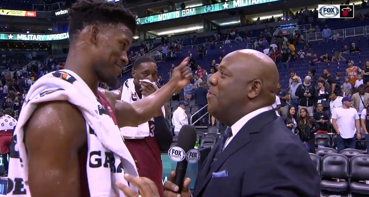 Jimmy Butler Was Not About His Teammates' Videobombing Him