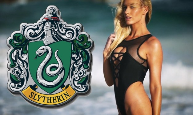 Golfer Paige Spiranac Gives Nod to Harry Potter Showing Off Her Latest Bathing Suit