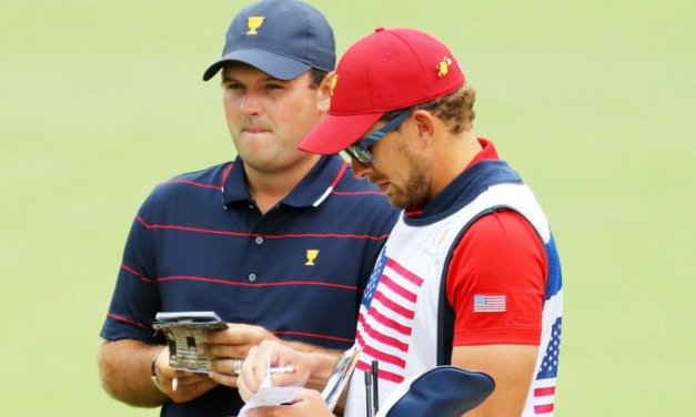 Patrick Reed's Caddie Off Bag After Altercation with Fan