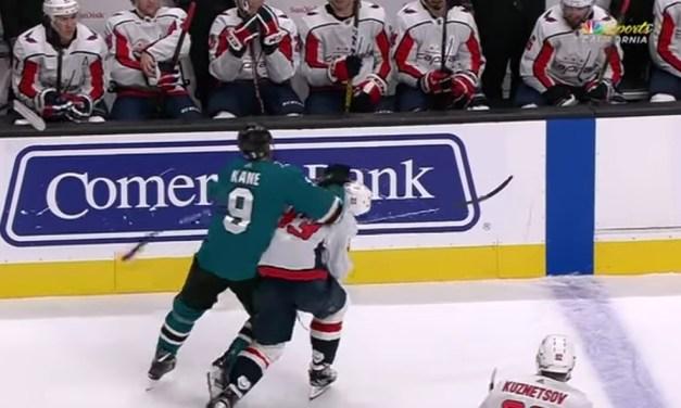 Evander Kane Ejected for Shot to Capitals Defenseman Radko Gudas