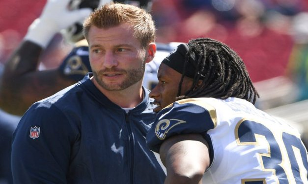 McVay 'Not Being an Idiot,' Using Todd Gurley More