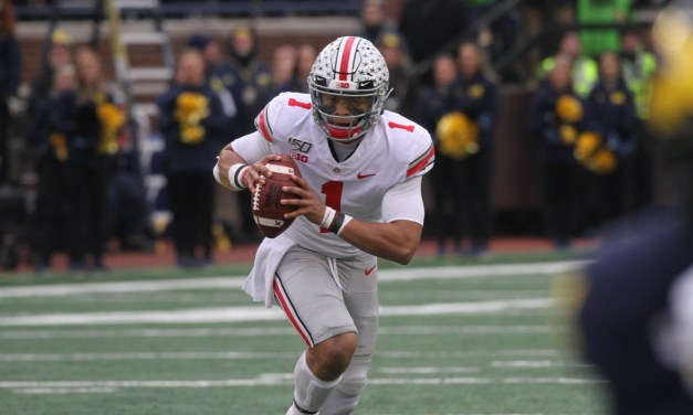 Ohio State QB Justin Fields Will Play in the Big Ten Title Game
