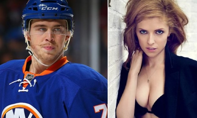 Islanders Anthony Beauvillier Shooting His Shot at Anna Kendrick