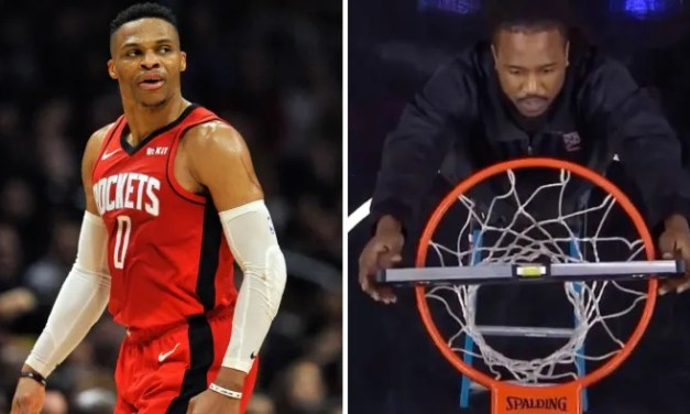 Rockets-Clippers Game Was Paused After Russell Westbrook Claimed the Rim Was Crooked