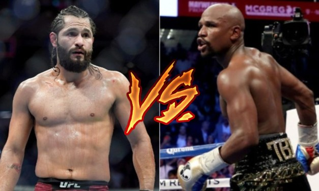 Jorge Masvidal Wants 'Lottery Ticket' Boxing Match with Floyd Mayweather Over McGregor Fight