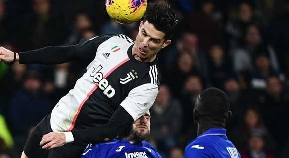 Cristiano Ronaldo's Gravity Defying Header Was Absolutely Ridiculous