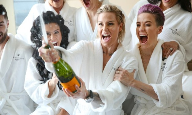 Inside the Wedding of Soccer Stars Ali Krieger and Ashlyn Harris