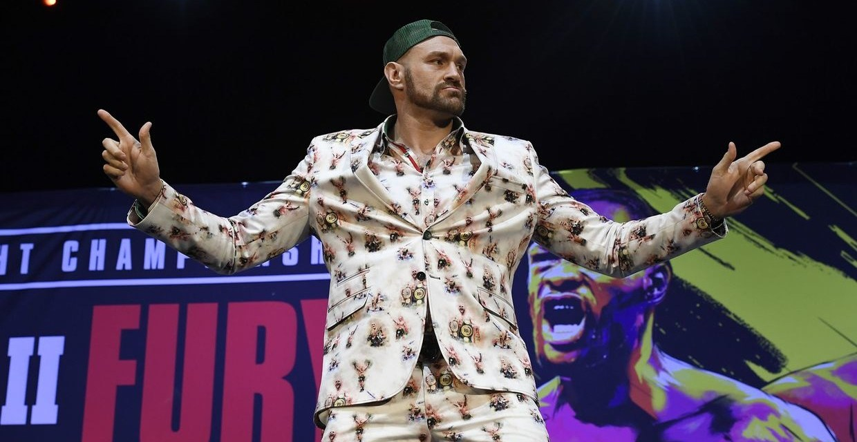Tyson Fury Reveals How Much He's Been Masturbating Ahead of Deontay Wilder Rematch