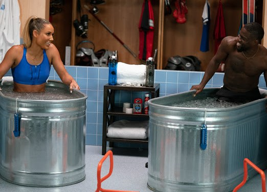 Olympic athlete Lolo Jones chats with Kevin Hart about an Almost Career-Ending Surgery, Bobsledding and Hurdles on 'Cold As Balls'