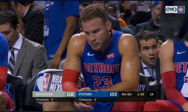 Blake Griffin Considering Season-Ending Knee Surgery