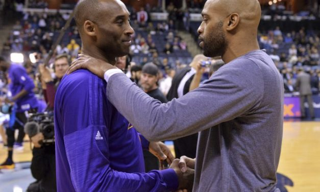 An Emotional Vince Carter Talked About His Relationship with Kobe Bryant