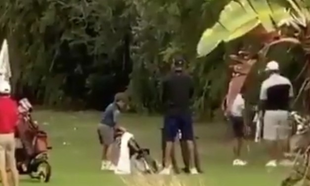 Video of Tiger Woods' Son Playing Golf Surfaces