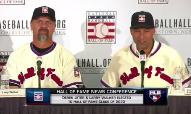 Derek Jeter Made Fun of How Bad the Marlins Are at the Hall of Fame Press Conference
