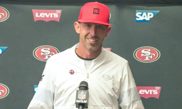 Kyle Shanahan Called Out Pass Interference on the Packers Before the Snap