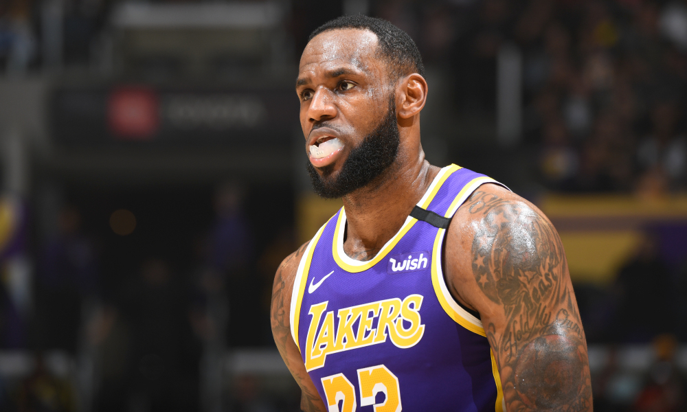 LeBron James 'Tricked Himself Out' on Dunk Denied by the Rim