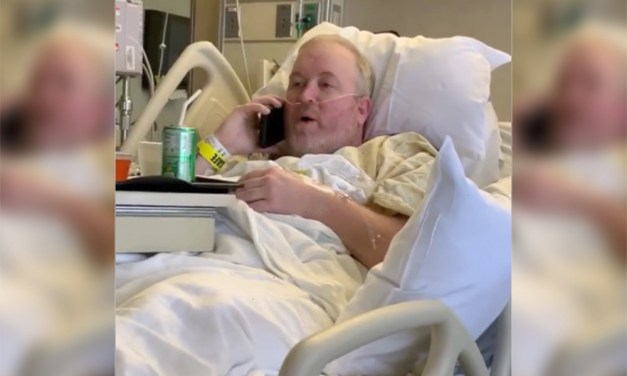 A  Kentucky Fan Called Into a Radio Show Ten Minutes After Waking Up From Surgery