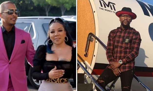 TI Responds To Floyd Mayweather's Recent Remarks About Wife Tiny Harris