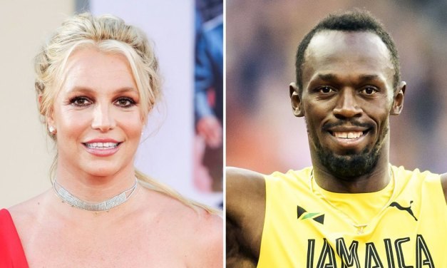 Britney Spears Claims to Run 100M Faster Than Usain Bolt