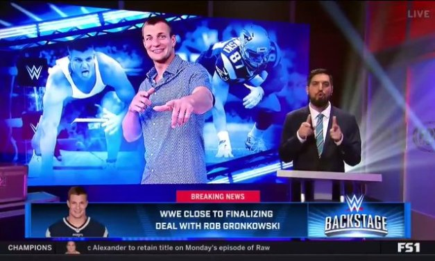 Rob Gronkowski is Close to Finalizing a Deal With the WWE