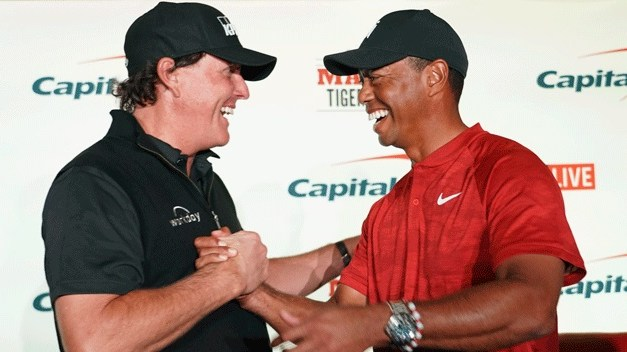 Phil Mickelson Drops Hint he's 'Working' on Possible Rematch with Tiger Woods