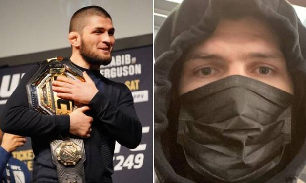 UFC 249 In Jeopardy as Russia Locks Down Borders Seemingly Trapping Khabib in Country