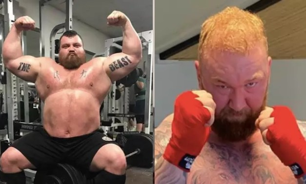 'The Mountain' Shares Dramatic Weight Loss Ahead Of Eddie Hall Fight