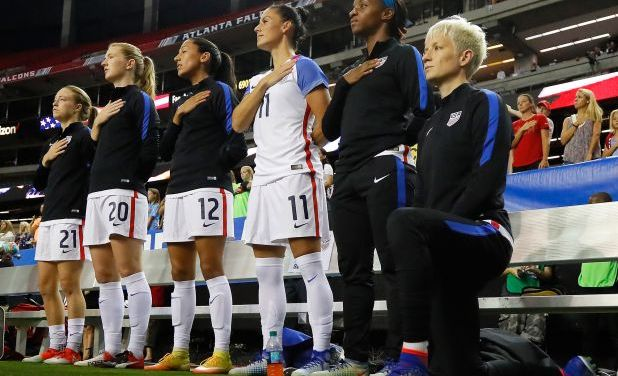 U.S. Soccer to Consider Repeal of Ban on Players Kneeling