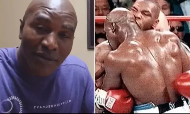 Evander Holyfield Explains Why He's 'Glad' Mike Tyson Bit His Ear