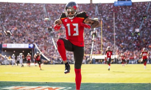 Mike Evans doubtful vs. Saints with hamstring injury
