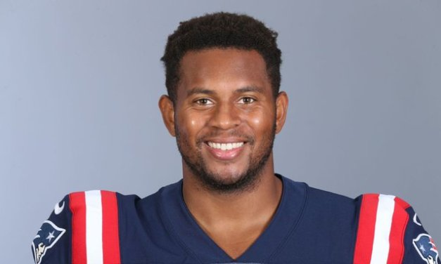 Pats' Herron honored for helping stop sex assault