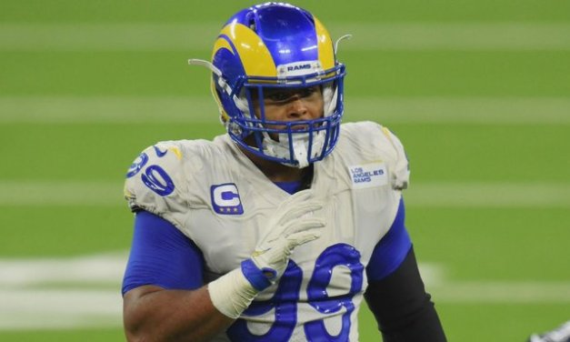 Attorney: Client mistook Rams' Donald for attacker