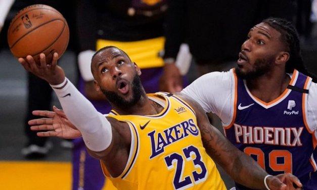 LeBron, AD get tough as Lakers regain groove