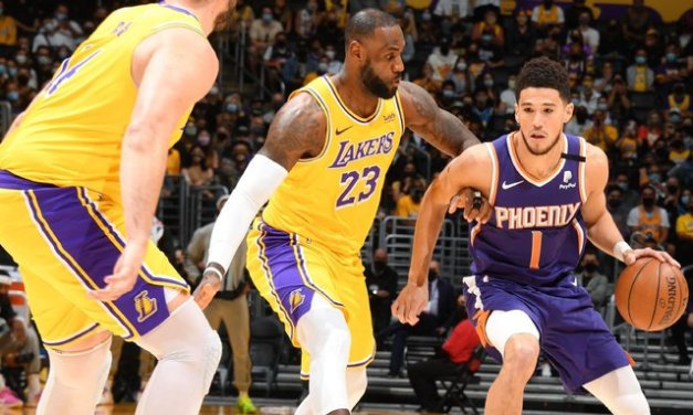 Lakers, AD stumble out in 6 as Suns end reign