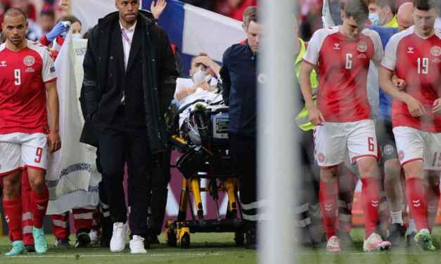 Eriksen awake in hospital after in-game collapse