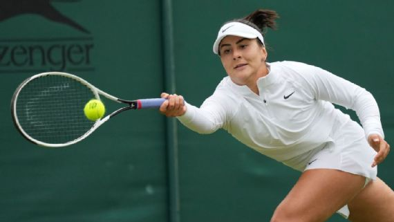 No. 5 Andreescu out after latest loss to Cornet
