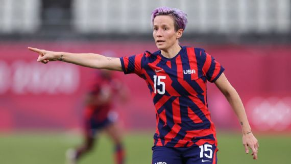 Rapinoe 'to take some time to think' about future