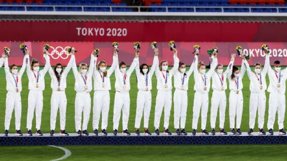USWNT still FIFA No. 1 after Olympic bronze