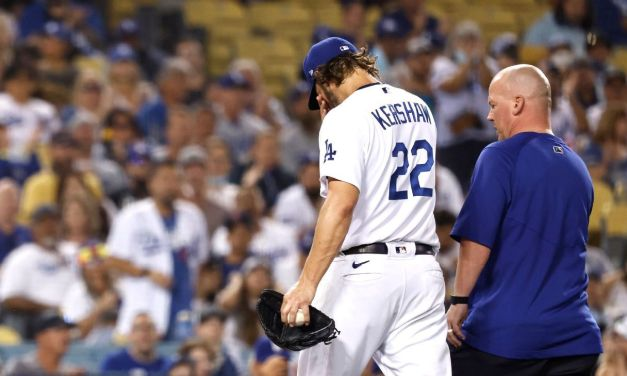 Kershaw exits; playoff status 'not looking great'