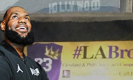 Billboard Battle for LeBron Comes to L.A