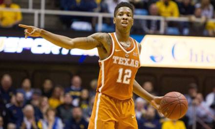 Texas' Kerwin Roach Had His Tooth Knocked Out After Taking an Elbow to the Mouth