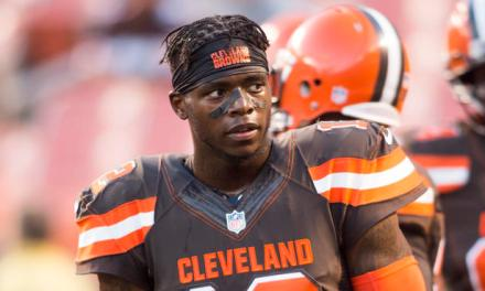 A Jacked Josh Gordon Is Getting Ready For The New Season