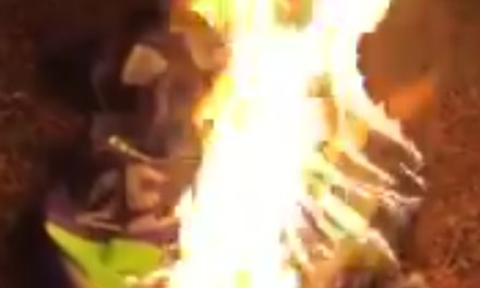 Seahawks Fan Burns His Richard Sherman Jersey After He Signs With The 49ers