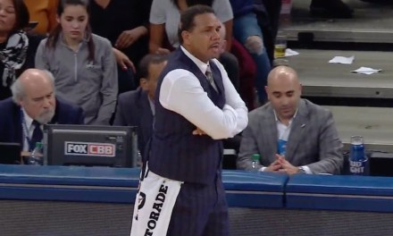 Providence Head Coach Split His Pants Trying To Upset Villanova